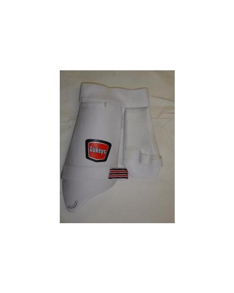 Lukeys Players  2 In 1 Cricket Thigh Guard Junior