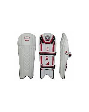 NEW Ton Max Power Pro Cricket W/K Pads Junior