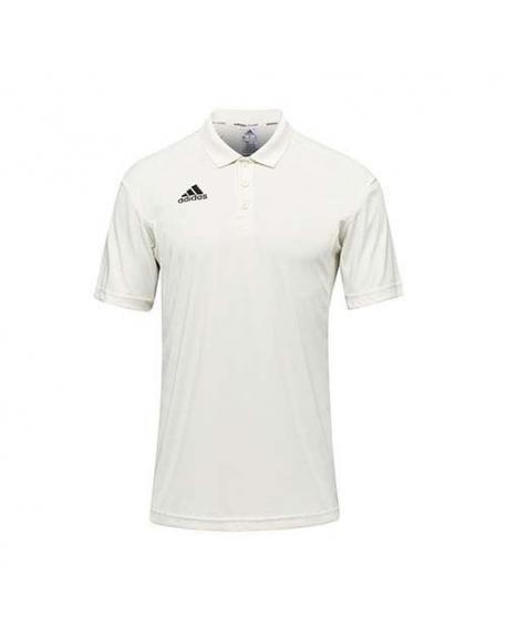 Adidas Howzat Short Sleeve Junior Cricket Shirt