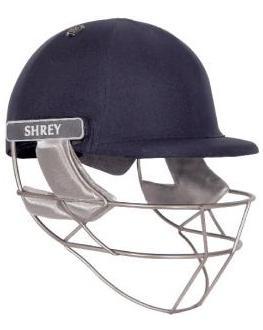 Shrey Pro Guard Helmet - Steel Grill