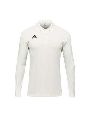 Adidas Howzat Long Sleeve Junior Cricket Shirt