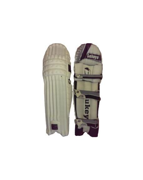 Lukeys Master Black Players Cricket Batting Pads