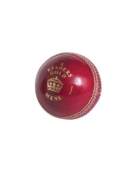 new 2010 READERS GOLD 'A' CRICKET BALL