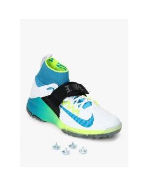 Nike Alpha Accelerate 3 White Cricket Shoes