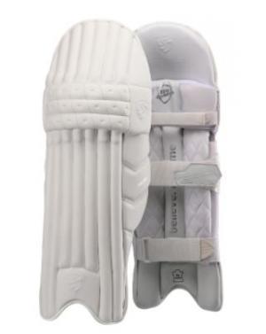 SG HILITE WHITE BATTING LEG GUARDS