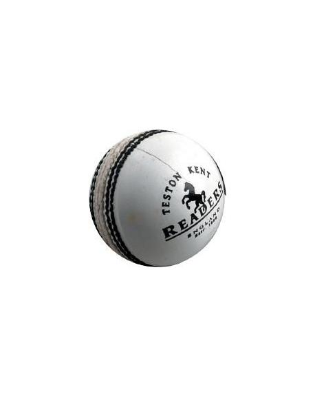New 2010 READERS CROWN WHITE CRICKET BALL