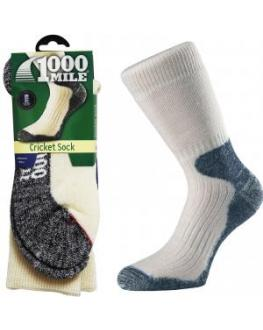 1000 Mile Heavyweight Merino Wool Padded Winter Cricket Sports Comfort Socks