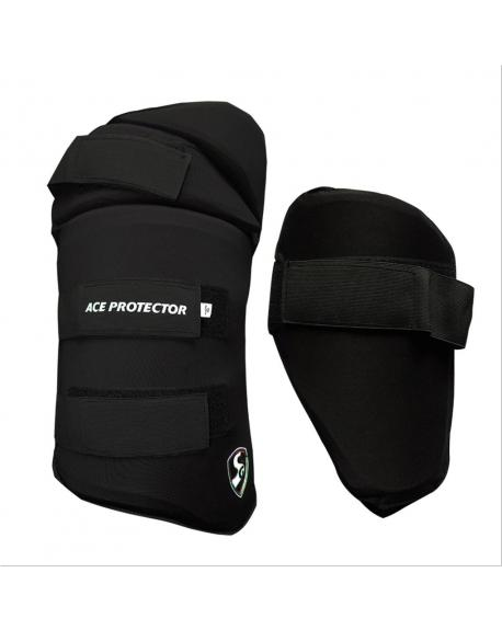 SG Ace Protector Thigh Pad Combo Black