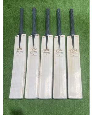 "TON ""Laser Engraved"" Special Edition English Willow Cricket Bat"