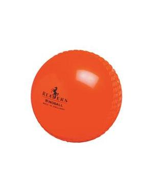 Readers Cricket Windball  - ORANGE - JUNIOR
