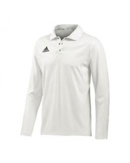 Adidas Cricket Long Sleeve Shirt - Senior