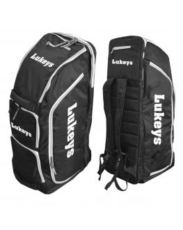 Lukeys Cricket Duffle Bag - Black and white