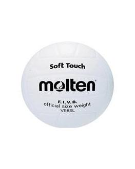 Molten V58SL All White Volleyball