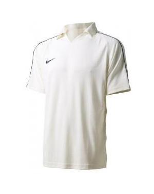 Nike Club Short Sleeved cricket Shirt