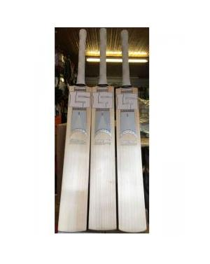 Lukeys White Limited Edition Cricket bat